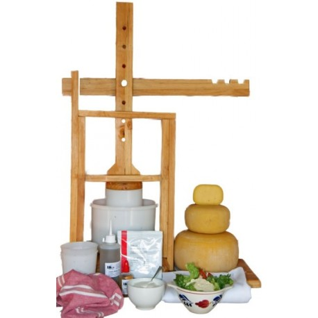 Wooden cheese press (20litres)