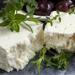 Make your own feta cheese at home