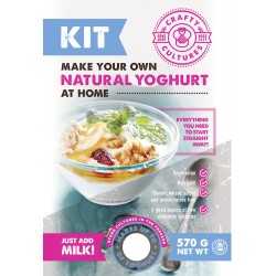 Natural Yoghurt Making Starter Kit Instruction Manual