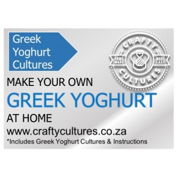 Greek Yogurt Starter (makes 100 litres of yoghurt)