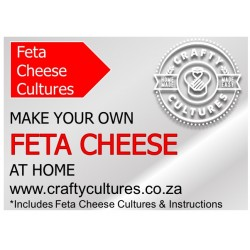 Feta Cheese Starter (sets up to 50 liters of milk)
