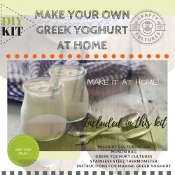Greek Yoghurt Starter Kit