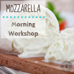 Make your own Mozzarella 101 Workshop - 8 June 2019