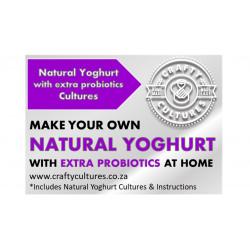 Natural Yoghurt Starter with extra probiotics (ABT-5, 50U) 50 Liters
