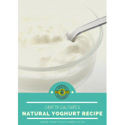 Crafty Culture's Natural Yoghurt Recipe