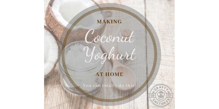 Making Coconut Yoghurt at home – a hassle free affair