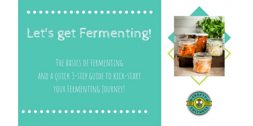 Steps to kick-start your Fermenting Journey